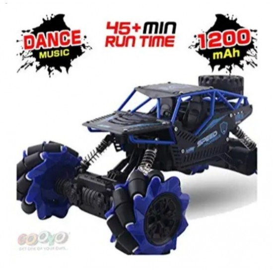 Drift Climbing Rock Crawler King 1:16 Scale Off Electronic RC Road Radio Remote Control High Speed Stunt Monster Car with Rechargeable Battery